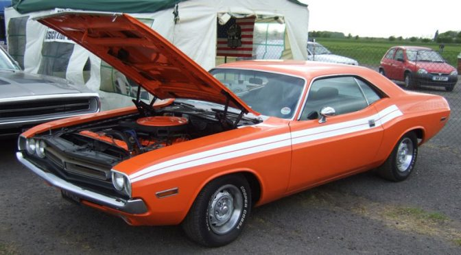 Brad's '71 Dodge Challenger