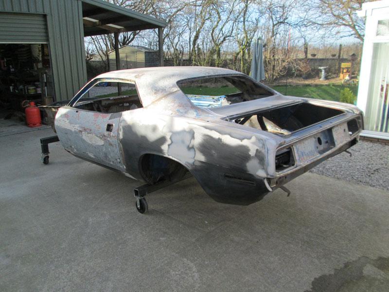 71 Plymouth Barracuda Project - Billadeau Speed & Automotive