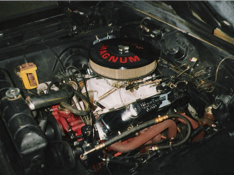 Engine bay tidying