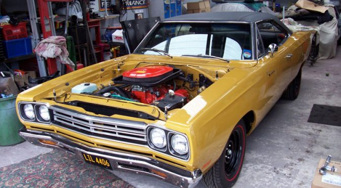 Richard's '69 Plymouth Road Runner