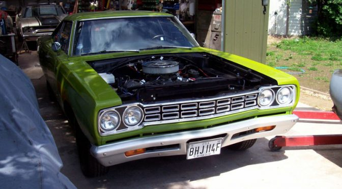 Julian's '68 Plymouth Road Runner