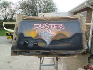 Kiwi's Duster