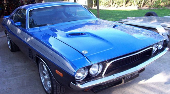Mark's '73 Dodge Challenger