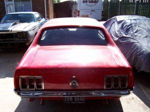 Nathan's Mustang
