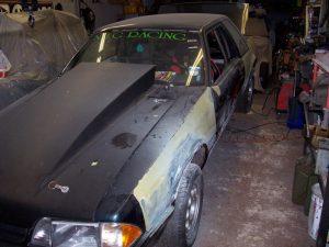 Nick's Mustang