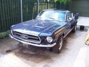 Paul's Mustang