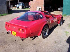 Phil's Corvette
