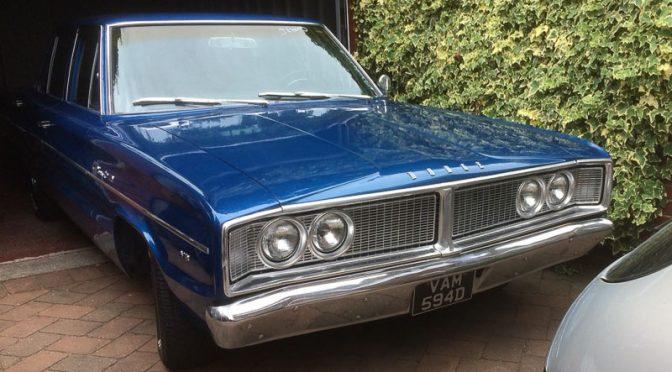 Tony's '66 Dodge Coronet