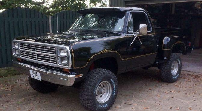 Bri's '79 Dodge W200 Warlock